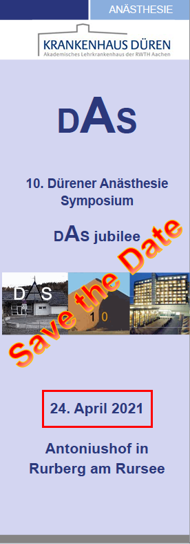 DAS 2021 Save the date